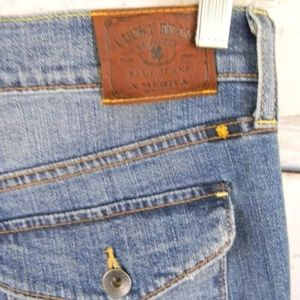NWT LUCKY BRAND Sweet N Low Sz 6 Bootcut Jeans